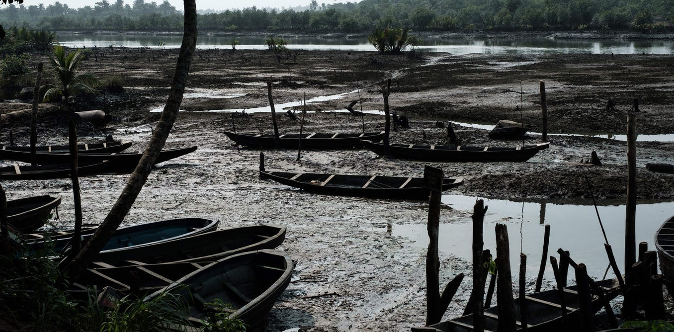 oil spillage in Niger Delta
