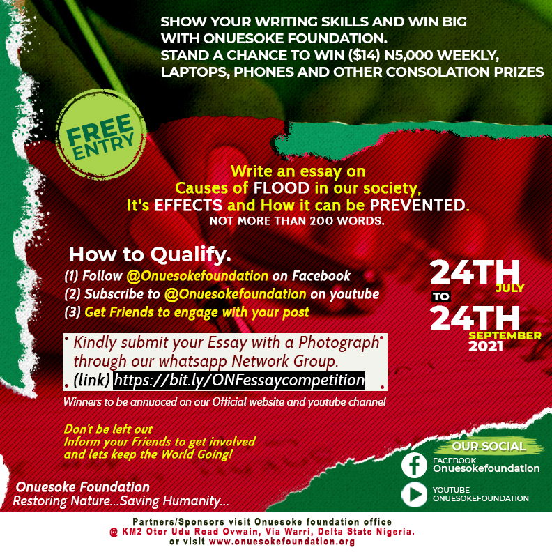 Essay Writing Competition